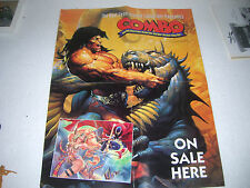 CONAN Poster - Advertising the COMBO - The next generation of collectable mags