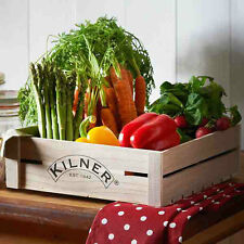 Kilner Wooden Kitchen Crate / Fruit Apple Vegetable Vintage Rustic Display Tray