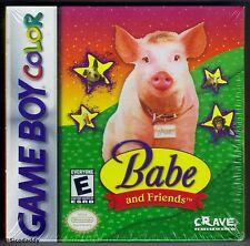 GBC Babe y amigos, 2000 Nintendo of America, totalmente nuevo y sellado de fábrica