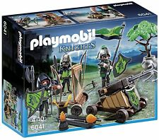 Playmobil loup chevaliers avec catapulte 6041
