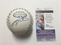 Carlos Zambrano Signed 2008 All Star Baseball JSA Coa