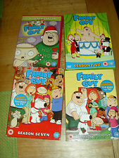 FAMILY GUY DVD BOX SETS COLLECTION & CHRISTMAS SPECIAL ABSOLUTE BARGAIN CULT TV