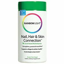 Nail, Hair &  Skin Connection - Food Based Tables, 60 Count by Rainbow Light