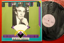 ERNO KIRALY HAND SIGNED 1991 PSYCH AVANT GARDE JAZZ EXYUGO LP MINT