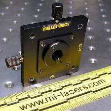 MELLES GRIOT 07HPH001, 2 AXIS POSITIONER with 200um PINHOLE APERATURE
