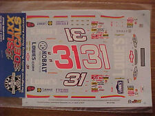 NEW 2001 MIKE SKINNER #31 LOWES 1/24-1/25 SCALE SLIXX WATER SLIDE DECAL SHEET