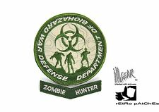 ill Gear eXtInCt Department of Biohazard War Defense Patch Green/Tan