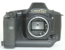 Canon T90 35mm SLR Film Camera Body Only with Split for FD/FL MOUNT. WORKS FINE!