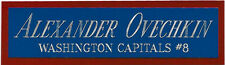 ALEXANDER OVECHKIN CAPITALS NAMEPLATE FOR YOUR AUTOGRAPHED Signed HOCKEY JERSEY