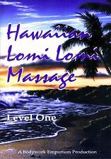 Lomi Lomi Hawaiian Massage & Spa Therapy Video On DVD - Level 1