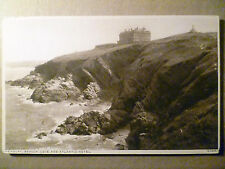 Vintage Postcard: Newquay, Beacon Cove and Atlantic Hotel, no.53281
