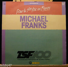 MAXIS 45 T  VINYL - MICHAEL FRANKS - ALONE AT NIGHT - DISQUE PROMO TFS 100
