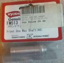 **NEW GENUINE** KYOSHO FRONT ONE WAY SHAFT (46) #FM513