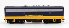 Bachmann HO Scale Train F7 B Diesel Locomotive DCC Ready C & O 63808