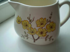 Carlton Ware Mimosa Milk Jug 0.5 Pints British