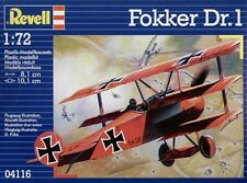 Revell 1/72 Modelo Kit 04116 Fokker Dr. I Triplane