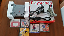 CONSOLE PLAYSTATION 1 + BOX + GAMES JAP NTSC