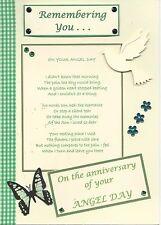 Angel Day (Son) : Graveside Family Memorial Cards