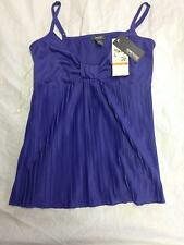 NEW Women's KENNETH COLE REACTION Purple Cami Tank Top Sz S NWT