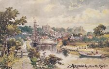 ARUNDEL ( Sussex) : Arundel from the River-FRANCIS-PHOTOCHROM