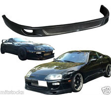 1993-1998 TOYOTA SUPRA TRD STYLE FRONT PU BUMPER LIP SPOILER POLY URETHANE BLACK