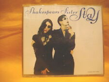MAXI Single CD SHAKESPEARS SISTER Stay 4TR 1991 downtempo synth pop