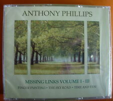 Anthony Phillips Missing Links Volume I-III 3-CD NEW SEALED 2010