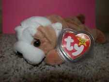Ty Beanie Baby wrinkles dog with misprint on tag too easter idea gift born 1996