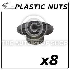 Clips Panneau Écrous Plastique BMW série 1 / série 3/3 Gran Turismo 12667 Pack de 8