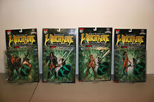 Set of 4 Witchblade Action figures / collectible figurines (series 1)