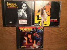 TARANTINO [3 CD Alben ] Kill Bill 1 + Pulp Fiction + Jackie Brown