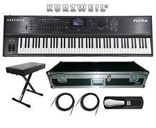 Kurzweil Forte 88 Key Stage Piano Keyboard *BRAND NEW* FREE HARD CASE, BENCH ETC
