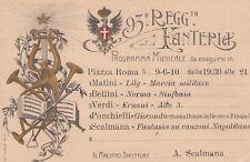 A2399) ANCONA, 93 REGGI. FANTERIA BRIGATA MESSINA, CONCERTO IN PIAZZA ROMA 1910