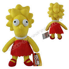 "The Simpsons Lisa Simpson 13.4""/34cm Soft Plush Stuffed Doll Toy"