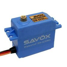 Savox SW0230MG Waterproof Standard 1/10 Steering .13/111.1 @ 7.4V Digital Servo