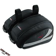 Par Alforjas Moto Berlina Touring Sport Laterales Cordura Impermeable Negro