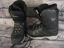 Heelside Snowboard Boots Mens 13 EU 47 Black Gray HS 2507