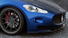 Spoilerlippe schwarz für Maserati Granturismo S Modell Bj. 07-11 Spoilerschwert