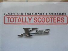 CASA LAMBRETTA CHROME SX X150 LEGSHIELD BADGE - BEST QUALITY