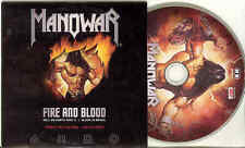 Manowar - Fire And Blood foto-CD-Rom In Cardcover