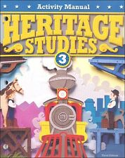BJU Press Heritage Studies Grade 3 Activity Manual Answer Key - 287250