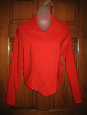 Vintage Equestrian Designs Santa Barbara, CA Snap Front Riding Blouse - Size S