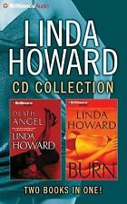 Linda Howard CD Collection 4 : Death Angel, Burn by Linda Howard (2015, CD,...
