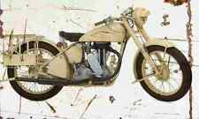 Matchless G3L Army 1941 Aged Vintage SIGN A3 LARGE Retro