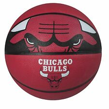 Official Chicago Bulls NBA Basketball Ball Rubber Leather Indoor Outdoor Court