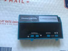 Honeywell Cleaver-Brooks S7800 A 1092 Keyboard Display Module S7800A1092