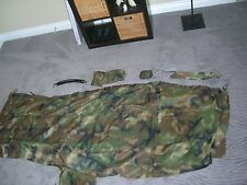 MILITARY ECOTAT FREEDOM SHELTER MULTI PURPOSE PONCHO SYSTEM