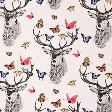 Michael Miller Fabric Deer Butterfly Fabric