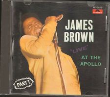 JAMES BROWN 12 track CD LIVE at the APOLLO part 1 Polydor 1968-1987 COLD SWEAT
