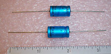 QTY (10)  330uf 10V PHILIPS FA016  AXIAL ALUMINUM ELECTROLYTIC CAPACITORS AUDIO